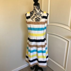 Nine West Striped Dress